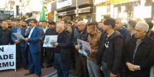 Bartın'dan Yeni Zelanda'daki Katliamı Telin Eylemi