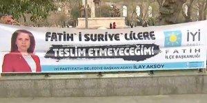 """""""Fatih'i Suriyelilere Teslim Etmeyecek"""" Kafa İngilizce Propaganda Yaptı"""