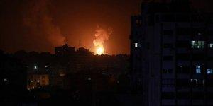 İsrail Hamas Hareketi'ne Ait Gözlem Noktasını Vurdu
