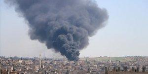 Esed ve Patronu İran İdlib'de Pazar Yerine Saldırdı: 10 Ölü
