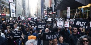 New York'ta 'Mueller Raporu' Protestosu