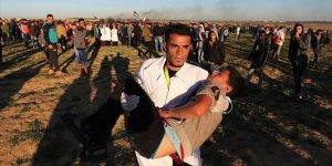 Gazze'deki Gösterilerde Şu Ana Kadar 40 Çocuk Katledildi