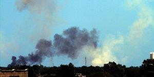 UMH'dan Hafter Güçlerinin Karargahına Hava Saldırısı
