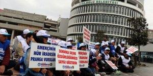 Bolu Belediyesi'nde İşten Çıkarılan İşçilerden Oturma Eylemi