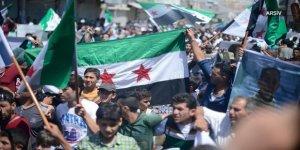 Deyrizor'da Yaşayan Sivillerden YPG/PKK İşgaline Karşı Gösteriler