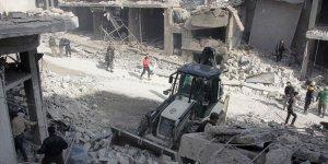 İdlib Gerginliği Azaltma Bölgesi'ne Hava Saldırısı