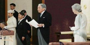 Japon İmparatoru Akihito Tahtı Törenle Bıraktı