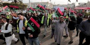 Trablus'ta Halk Hafter'i Protesto Etti