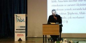 Muş'ta Helal Gıda Konulu Konferans Yapıldı