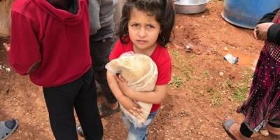 Bombardımandan Kaçan Aileler Yardım Bekliyor!