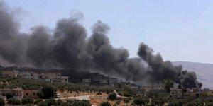 İdlib'e Bir Günde 110 Hava Saldırısı Düzenlendi
