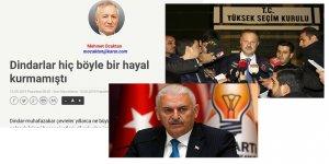 İktidar Adına Konuşanlar AK Parti'nin Halk Nezdinde İtibarını Düşürüyorlar