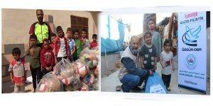 Kumanyalarımız Gazze ve Suriyeli Kardeşlerimize Ulaştı