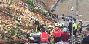 İstanbul Başakşehir'de İstinat Duvarı Çöktü