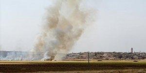 YPG/PKK Bab'daki Sivillerin Tarım Arazilerini Yaktı