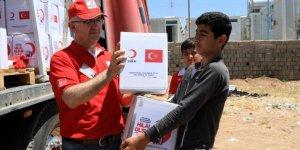 Kızılay'dan 3 Bin Ezidi Aileye Gıda Yardımı