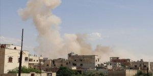 İdlib'e Bomba Yağdıran Esed Rejimi 5 Sivili Daha Katletti!