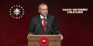 Cumhurbaşkanı Erdoğan Yargı Reformu Stratejisi Belgesini Açıkladı