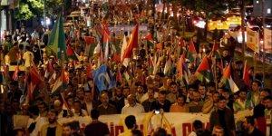 Mavi Marmara'nın Yıldönümünde Siyonist İşgal, Diktatörler ve Zulümler Telin Edildi