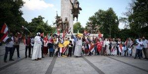 Sudan'da Sivillerin Katledilmesi İstanbul'da Protesto Edildi
