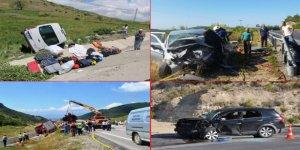 Bayram Tatilinin 7 Günlük Kaza Bilançosu: 65 Ölü, 661 Yaralı