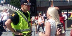 Norveç'te İslam Karşıtı Gösteri Yaptılar