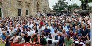 Bursa'da Şehid Muhammed Mursi İçin Gıyabi Cenaze Namazı