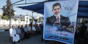 Gazze'de Muhammed Mursi İçin Taziye Çadırı Kuruldu
