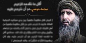El Kaide'nin Kuzey Afrika Kolundan Mursi İçin Taziye