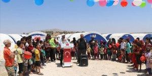 İdlibli Çocuklar Muhammed Mursi'nin Adını Çadır Kentle Yaşatacak!