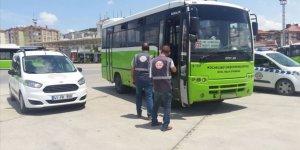 Özel Halk Otobüsünde Yolcuya Saygısızlık Cezasız Kalmadı