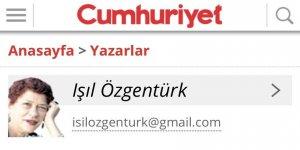 Cumhuriyet Yazarı Duruşma Safhasını Dahi Çarpıtıyor!