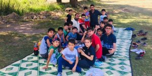 Özgür-Der Bingöl Şubesi Yaz Kur'an Kursu Öğrencileri Piknik Düzenledi