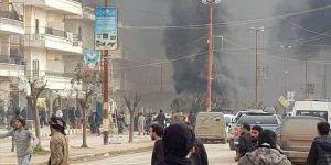 Afrin'de Bombalı Saldırı: 8 Ölü