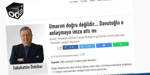 Davutoğlu'na G. Kıbrıs Pravdası Üzerinden Vurmanın Anlamı!