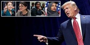 Trump'tan Göçmen Kadın Siyasetçilere Irkçı Sözler: Kendi Ülkenize Dönün