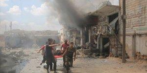 İdlib'e Şiddetli Hava Saldırıları: 6 Sivil Hayatını Kaybetti