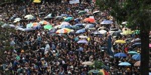 Yasa İptali Hong Kong'daki Protestocuları İkna Etmedi