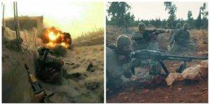 Hama'da Esed Güçlerine Operasyon Yapan Direnişçiler Birçok Subayı Öldürdü