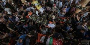 İsrail 2019'un İlk Yarısında Gazze'de 54 Filistinliyi Şehit Etti