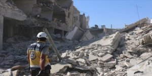 İdlib'de Esed Rejimi ve Rusya 17 Köyü Tamamen Yıktı