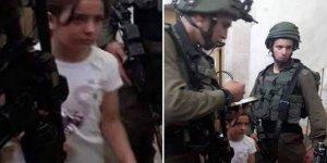 Siyonistler Şimdi de 8 Yaşındaki Çocuğu İfadeye Çağırdı