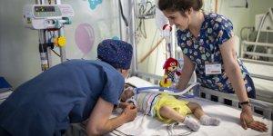 3 Aylık Suriyeli Kimsesiz Bebek Hastanede Büyüdü