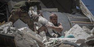 İdlib'de Bombardıman Altında Bir Kurban Bayramı Daha