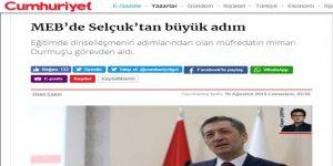 Kemalistlerin Büyük Sevinci: Dinselleşmenin Mimarı Gitti!