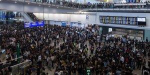 Hong Kong Uluslararası Havalimanı'nda Uçuşlar İptal Edildi