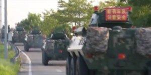 Çin, Hong Kong Sınırına Askeri Sevkiyat Yapıyor