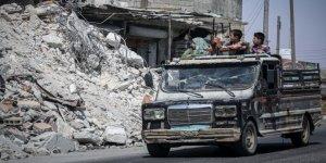 124 Bin Sivil Suriye-Türkiye Sınırındaki Kamplara Göç Etti