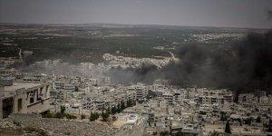 İdlib'e Yoğun Hava Saldırıları