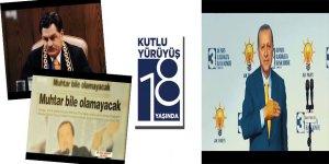 Devlete Karşı Toplumun Haklarını Savunmak Gibi İddialarla Kurulan AK Parti'nin 18. Kuruluş Yıldönümü